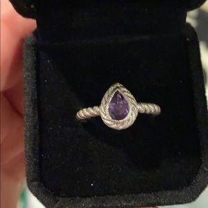 Judith Ripka Amethyst Ring